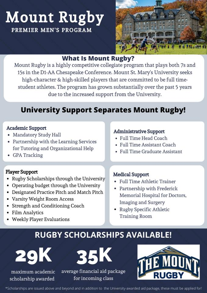 College Recruitment - Mount Saint Mary's