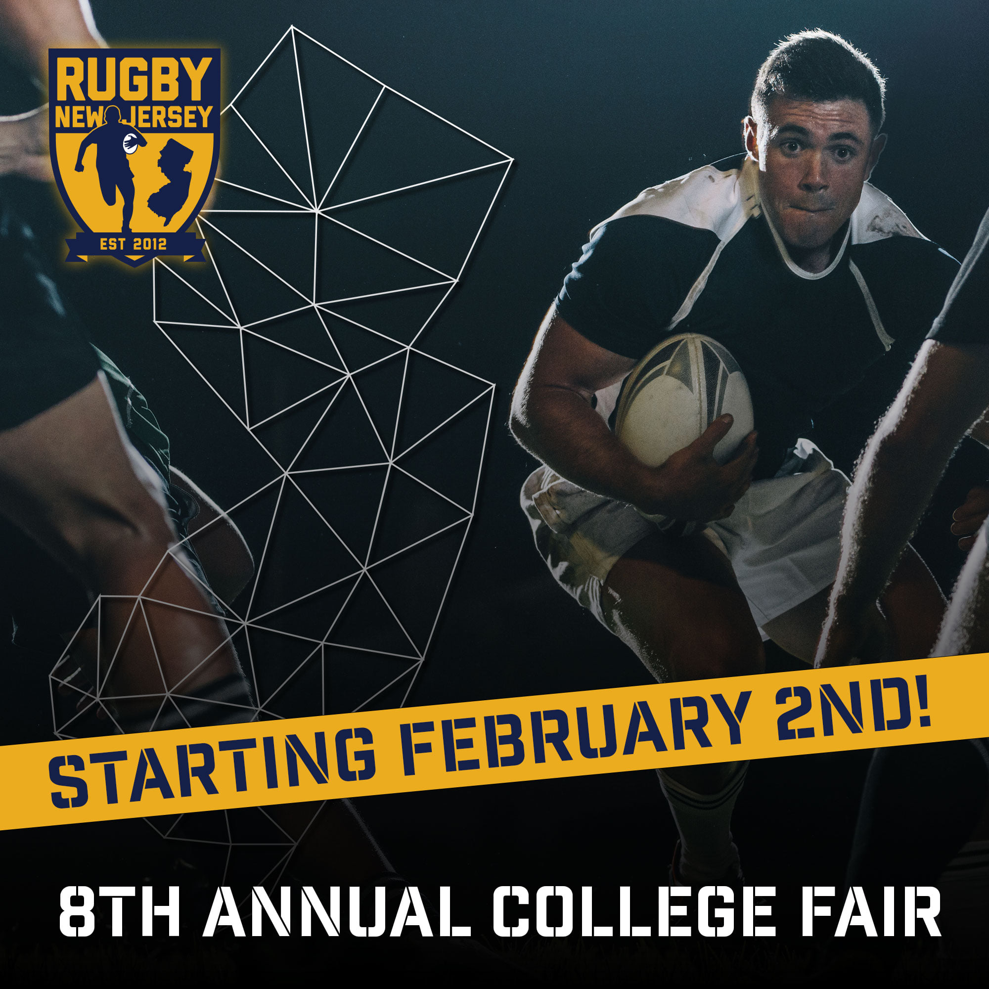 Rugby New Jersey's Eighth College Fair goes Virtual