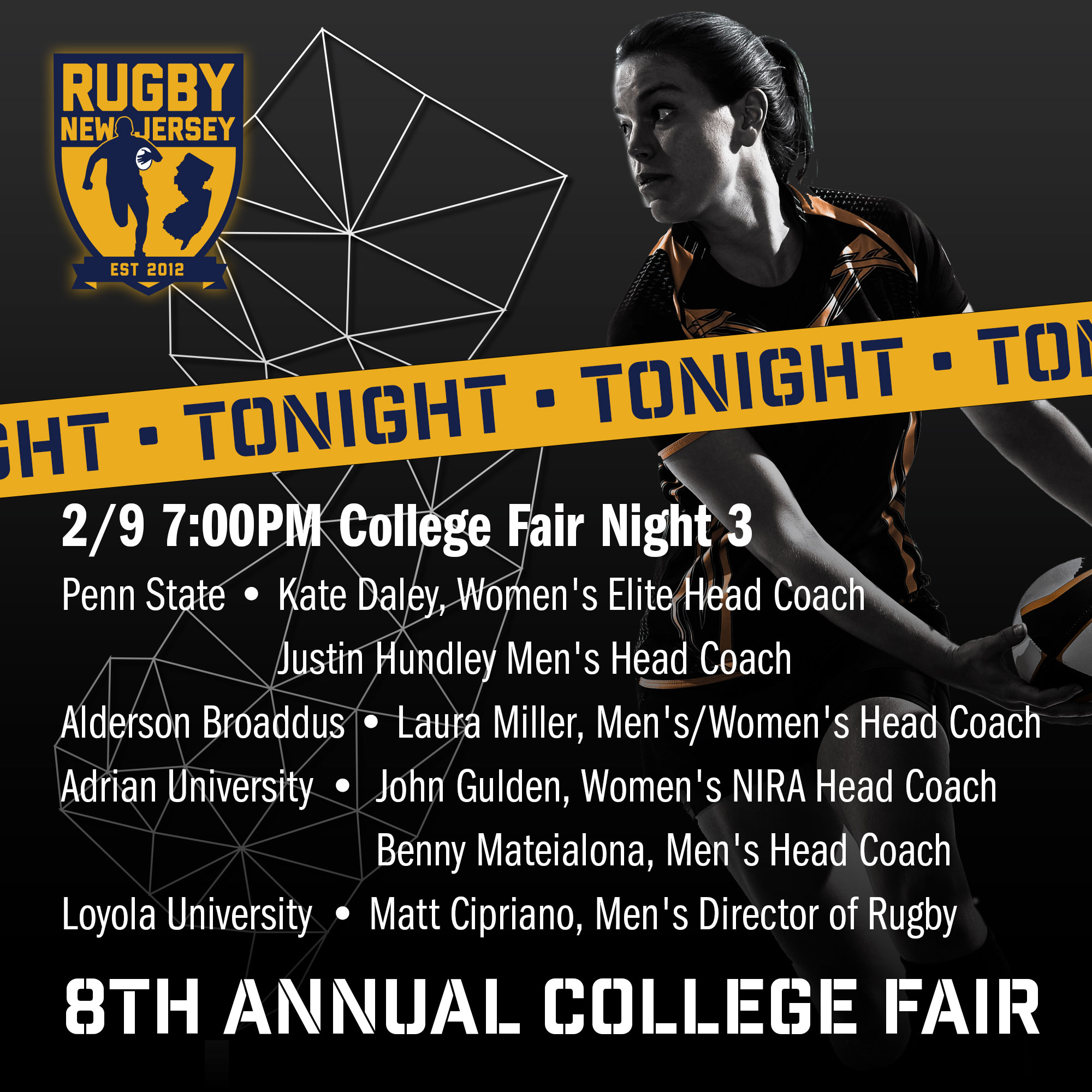 Tonight (February 9)! College Fair Night 3 @ 7:00 PM Eastern Time