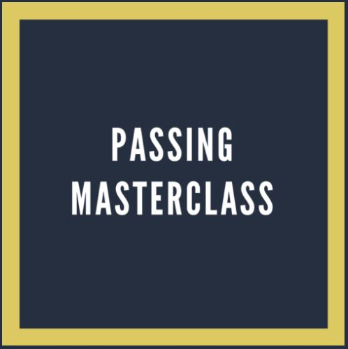 REMINDER .... NORTHEAST ACADEMY PRESENTS PASSING MASTERCLASS  AT UNAMI PARK